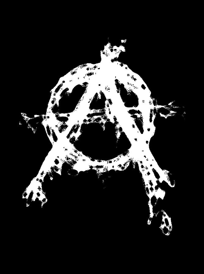 Anarchy Graphic by Roseanne Jones