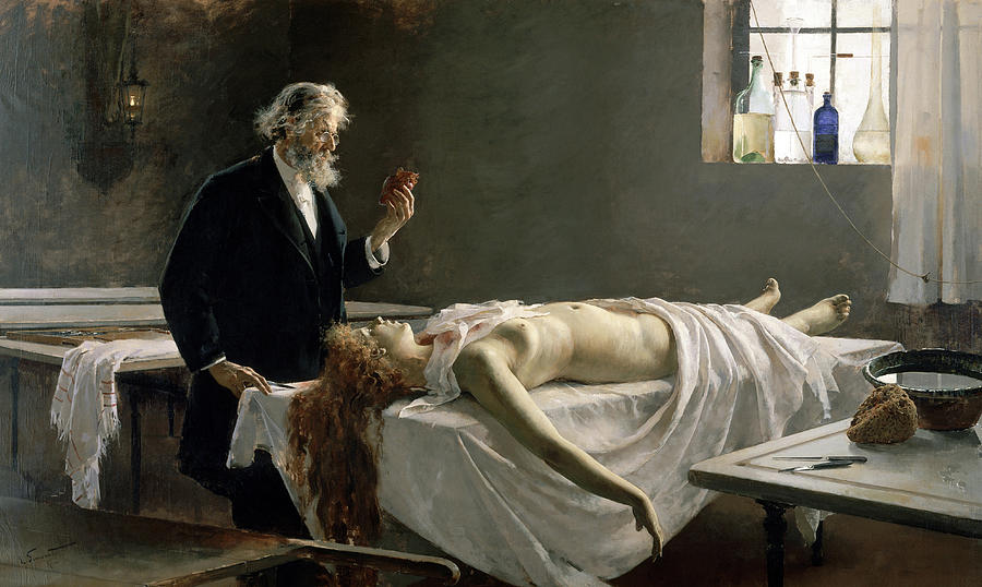 Anatomy Painting - Anatomy Of The Heart, 1890 by Enrique Simonet