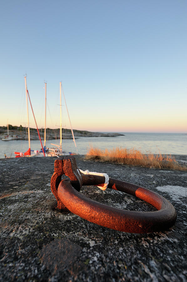 Anchored Photograph by Rhoberazzi