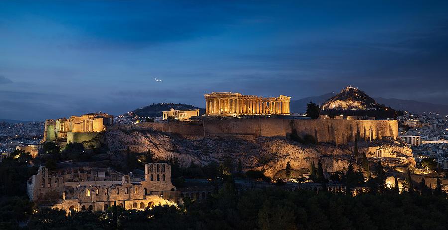 Ancient Acropolis Athens Photograph