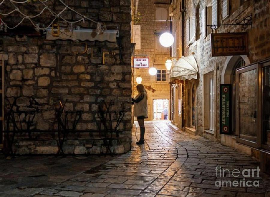 Ancient Budva Montenegro by Rod Jellison