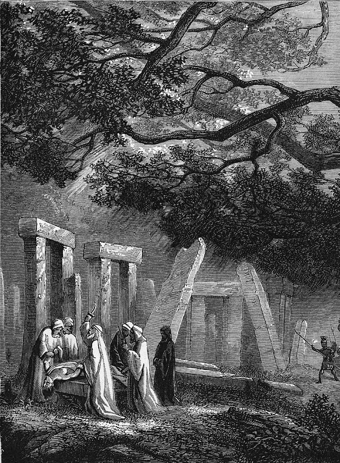 Ancient Druidic Rite Photograph by Kean Collection