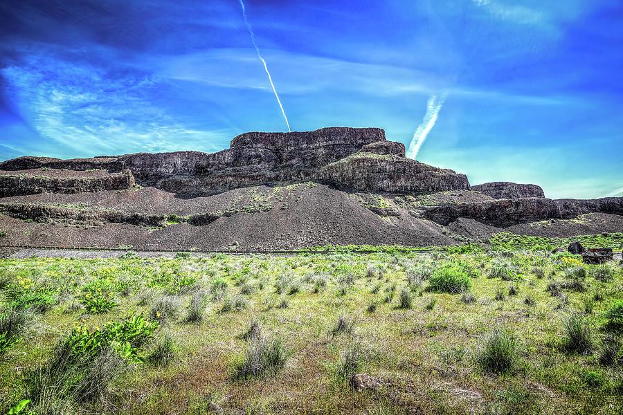 Ancient Dry Falls Photograph