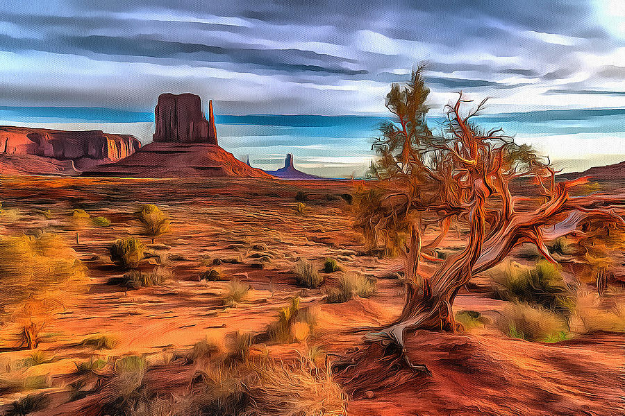 Ancient by Fine Art Western Paintings