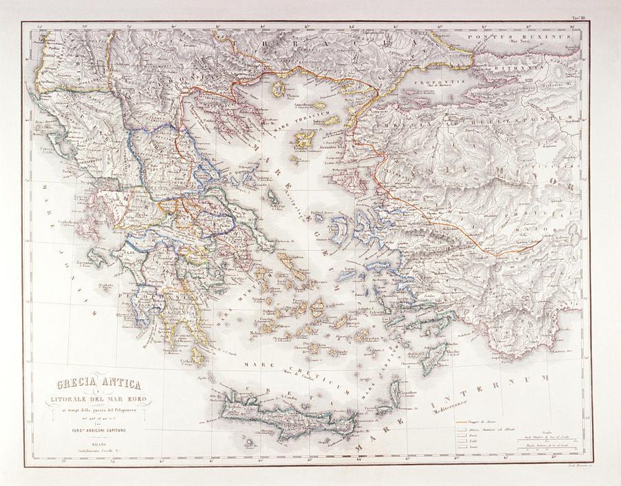 Ancient Greece Digital Art by Fototeca Gilardi