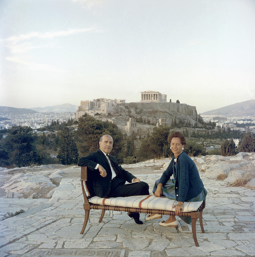 Ancient Greek Furniture Photograph by Slim Aarons