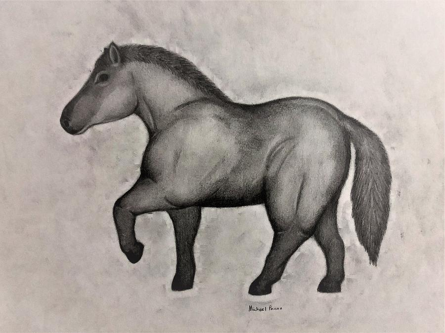 Ancient Horse Drawing