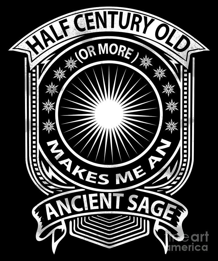 Ancient Sage Half Century Old by Valerie Garner