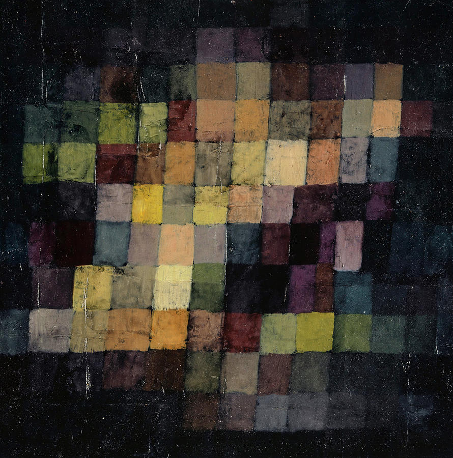 Paul Klee Painting - Ancient Sound by Paul Klee