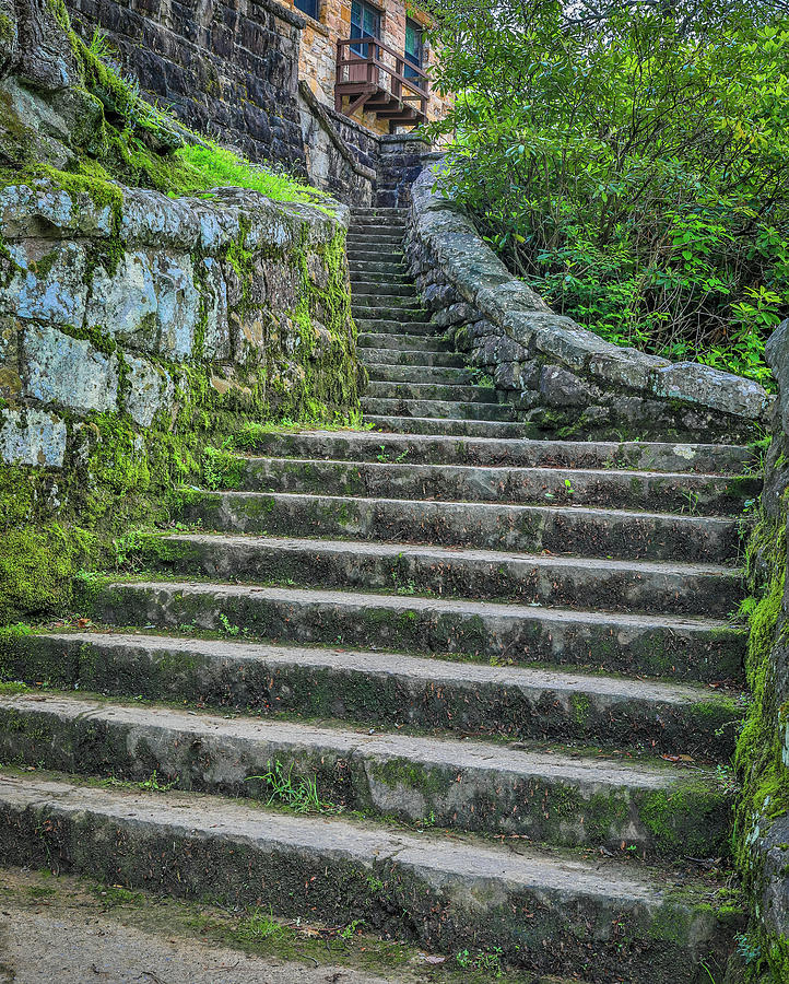 Ancient Stairs by Dan Sproul