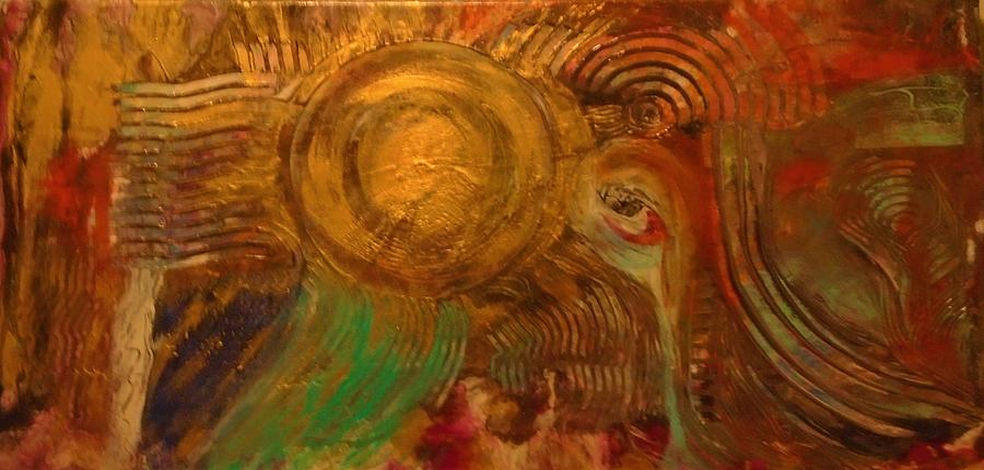 Egyptian Sunset Painting