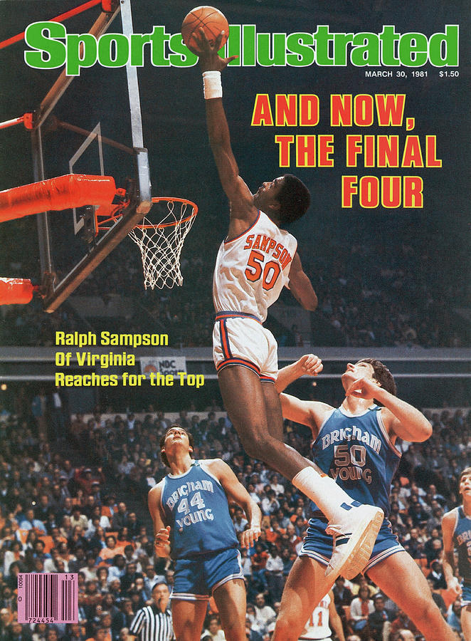 And Now, The Final Four Ralph Sampson Of Virginia Reaches Sports Illustrated Cover Photograph by Sports Illustrated