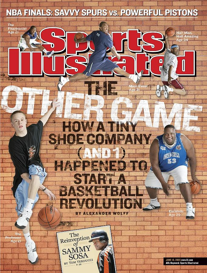 And One Mix Tapes Sports Illustrated Cover Photograph by Sports Illustrated