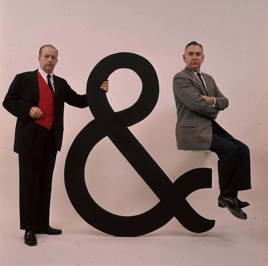 And The Ampersand Photograph by Slim Aarons