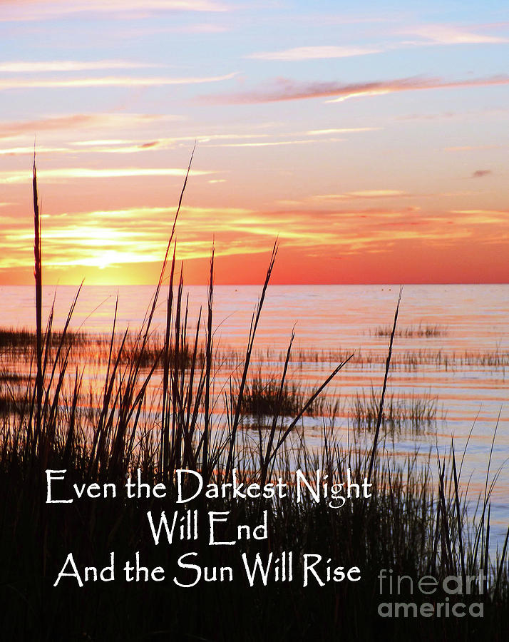 And the Sun Will Rise Card by Sharon Williams Eng