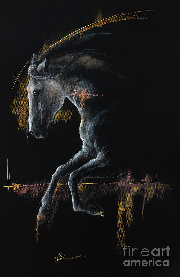 Andalusian horse 2019 04 04 by Angel Ciesniarska