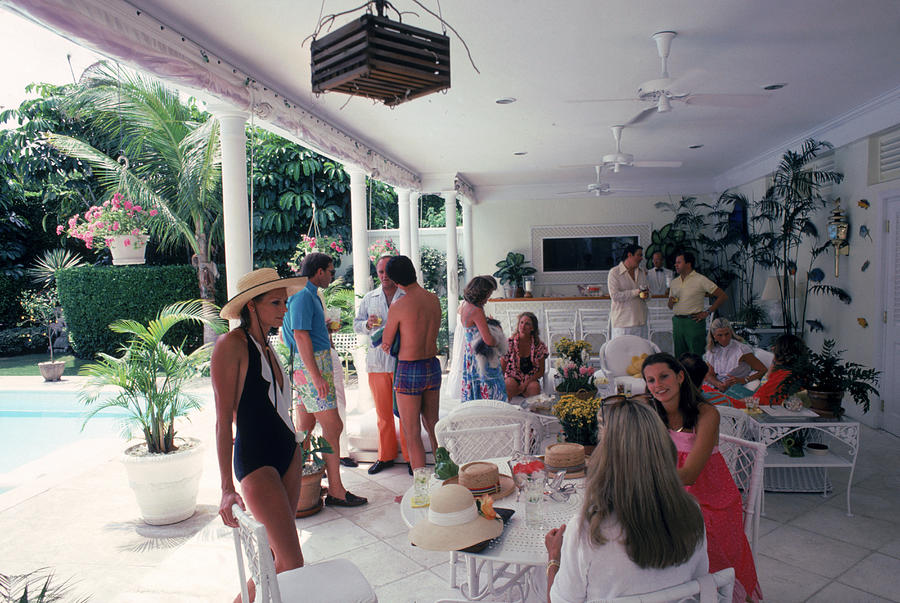 Anderson Chez Gillet Photograph by Slim Aarons