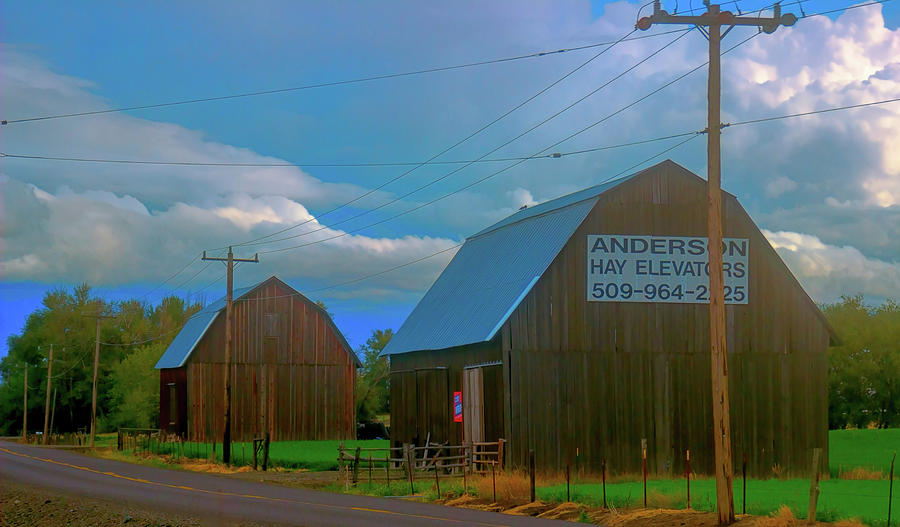 Andersons Barns by Cathy Anderson