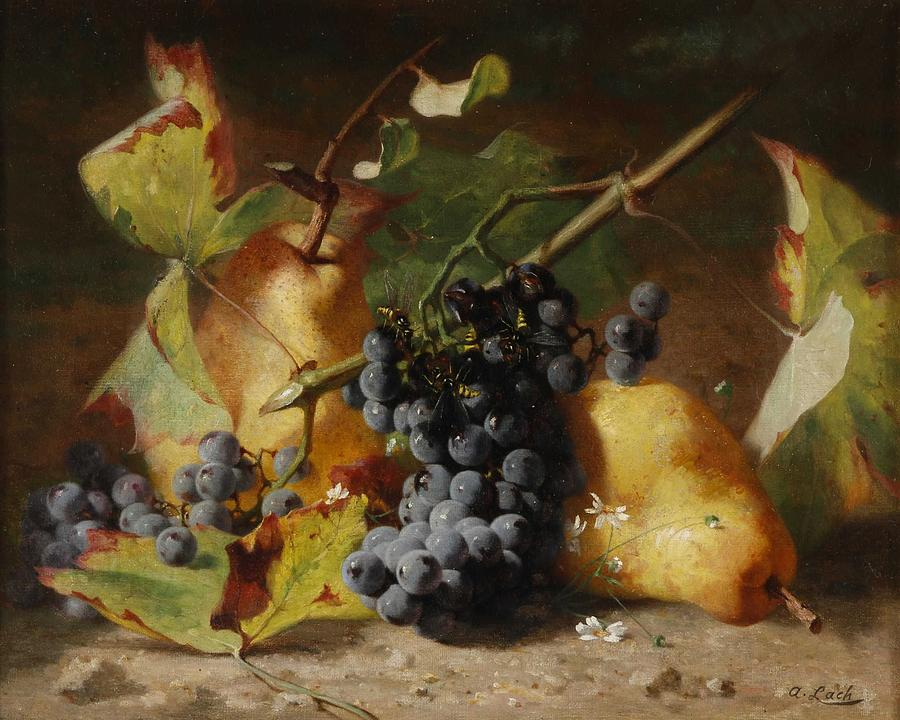 Fruit Painting - Andreas Lach Fruit Still Life by Andreas Lach