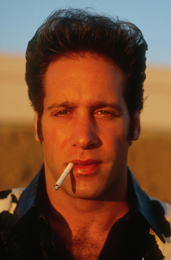 Andrew Dice Clay Portrait Session Photograph by George Rose