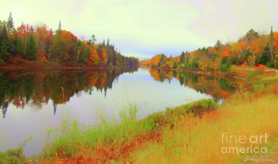 Androscoggin River, 13 Mile Woods by Susan Lafleur