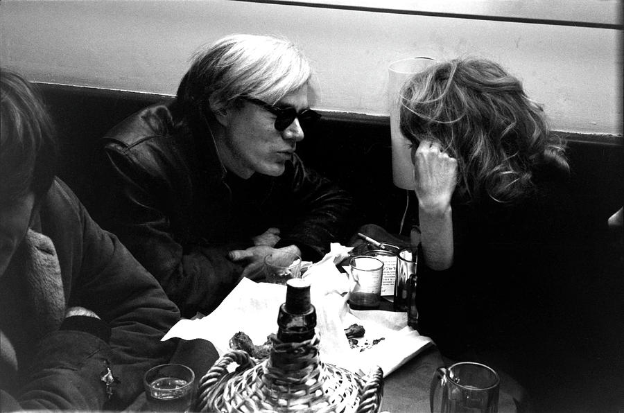 Andy Warhol In Maxs Kansas City Photograph by Fred W. McDarrah