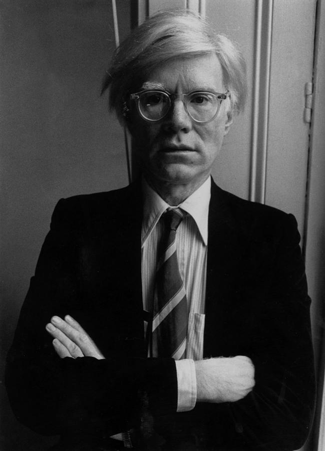 Andy Warhol Photograph by John Minihan