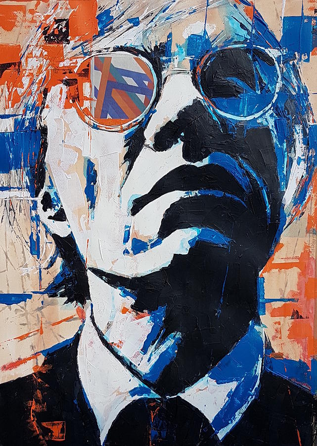 Andy Warhol by Paul Lovering