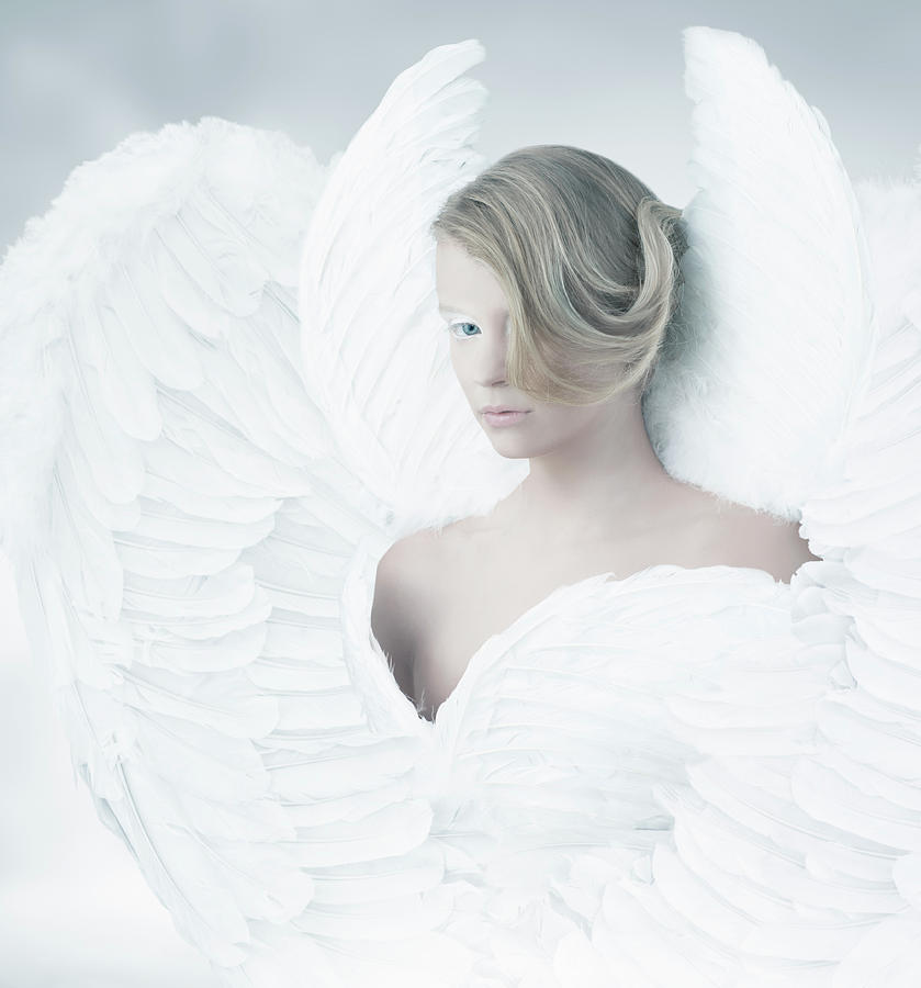 Angel Photograph by Colin Anderson