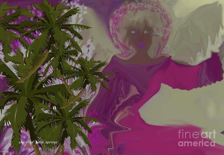 Angel Eyes Digital Art by Sherris - Of Palm Springs