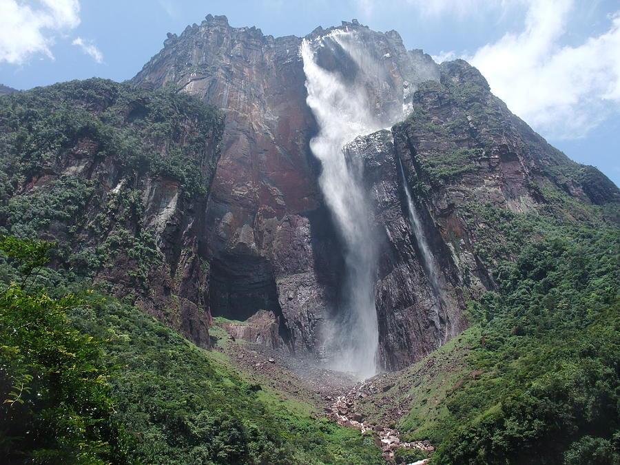 Angel Falls Photograph by By Neil Donovan.  Visit Www.neildonovan.net For More.