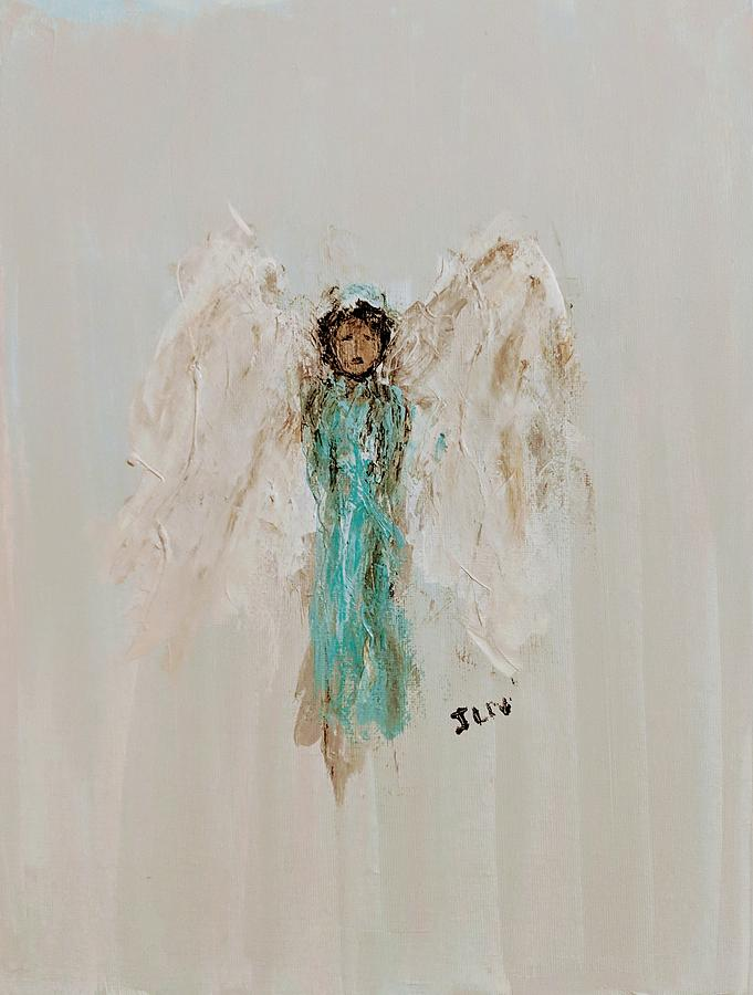 Angel for strength by Jennifer Nease