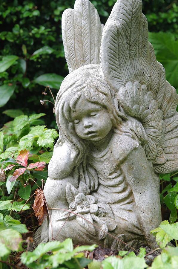 Angel Garden Ornament 2 Photograph