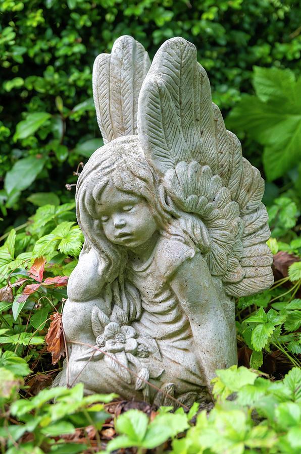 Angel Garden Ornament 3 Photograph