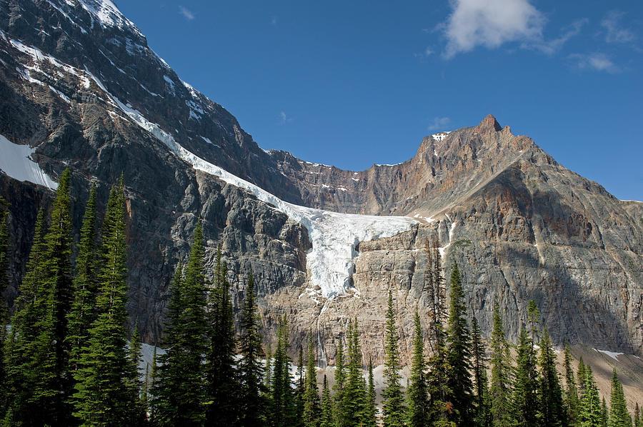 Angel Glacier Photograph by Jim Julien / Design Pics