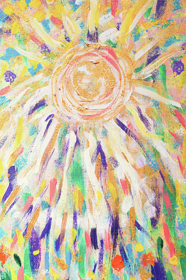 Angel In The Garden by Susan Schanerman