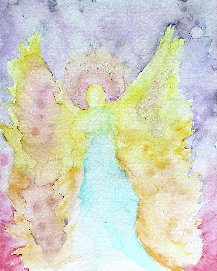 Angel of Hope and Faith by Alorah Tout