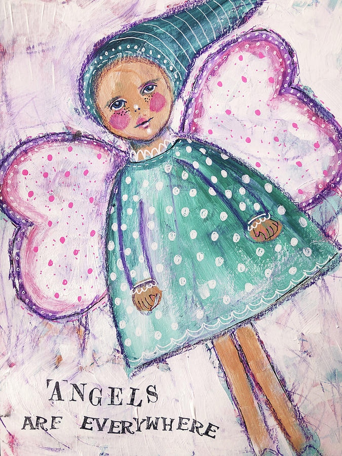 Angels are everywhere by Lynn Colwell
