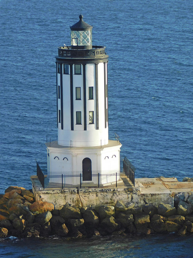 Angels Gate Lighthouse Photograph