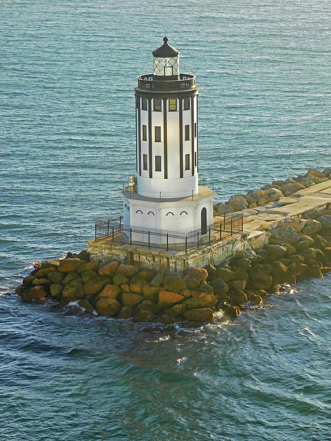 Angels Gate Lighthouse San Pedro Ca Photograph