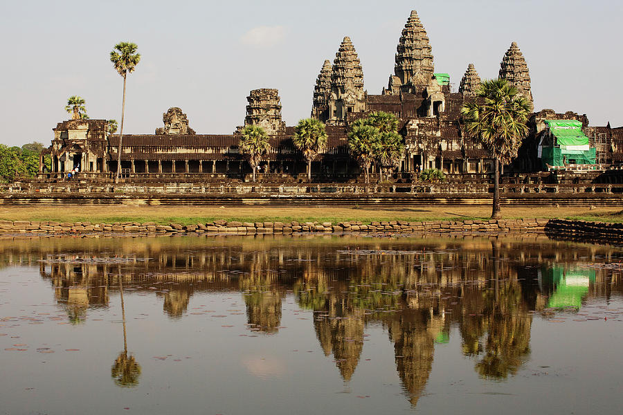 Angkor Wat Photograph by Michael Toye
