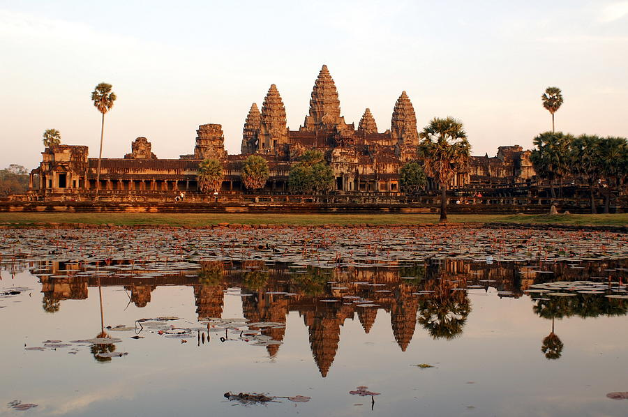 Angkor Wat - Siem Reap - Cambodia Photograph by By Lionel Arnould