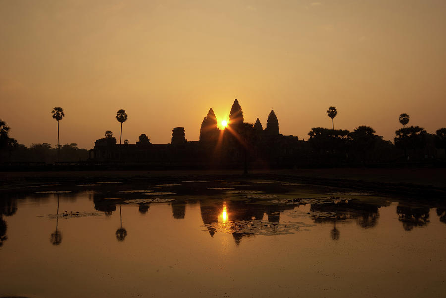 Angkor Wat Sunrise Photograph by Photography Aubrey Stoll