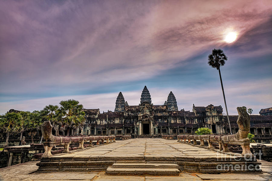 Angkor Wat Temple Unesco World Heritage Site Photograph