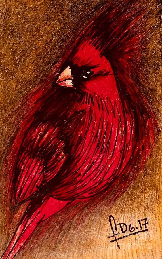 Angry bird  by Fanny Diaz