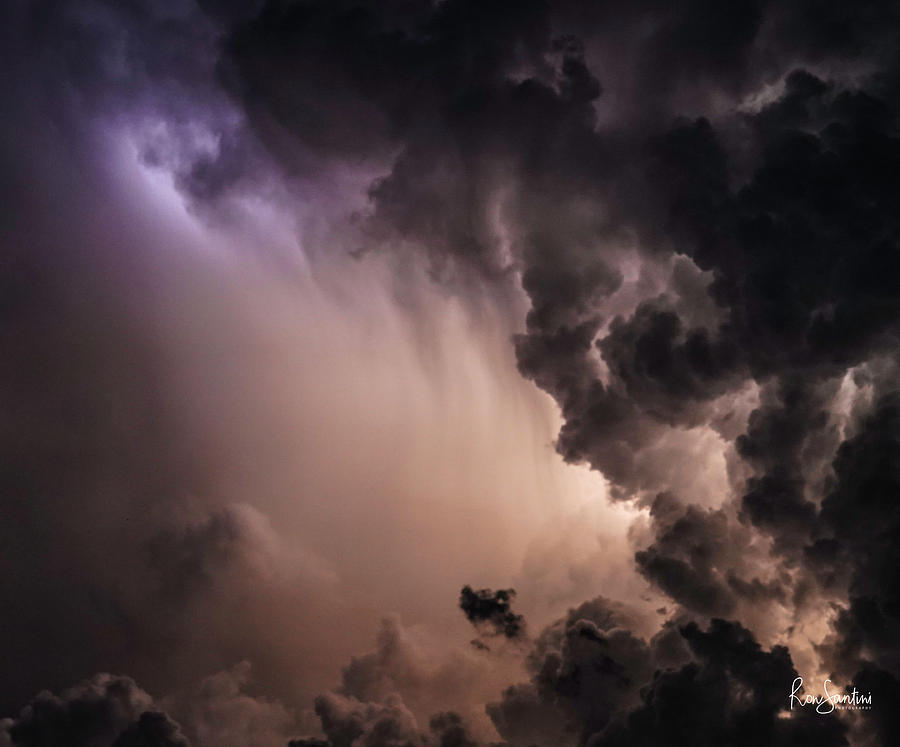 Angry Sky by Ronald Santini