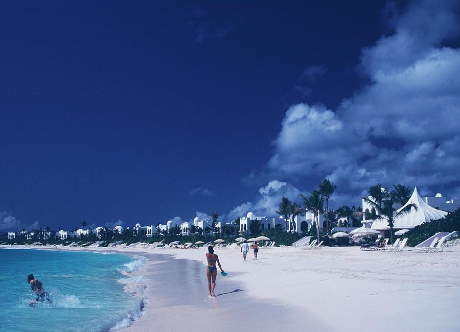 Anguilla Beach Resort Photograph by Slim Aarons