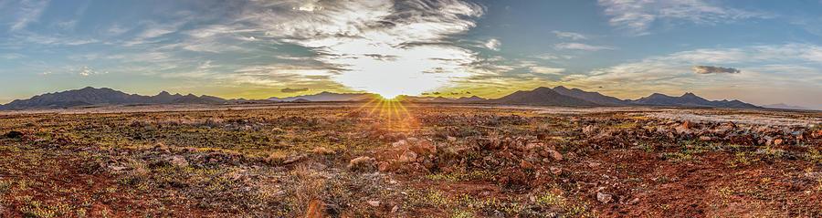 Animas Valley Panorama by Lon Dittrick