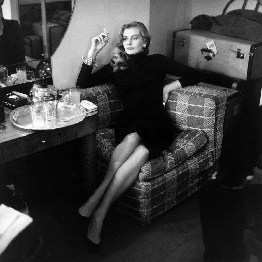 Anita Ekberg Photograph by Bob Haswell