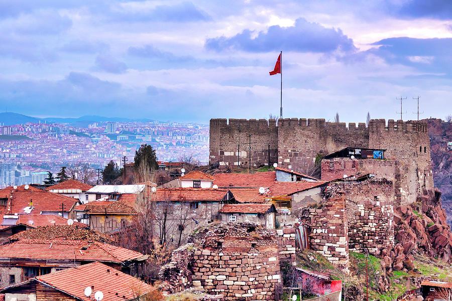Ankara Castle by Fabrizio Troiani